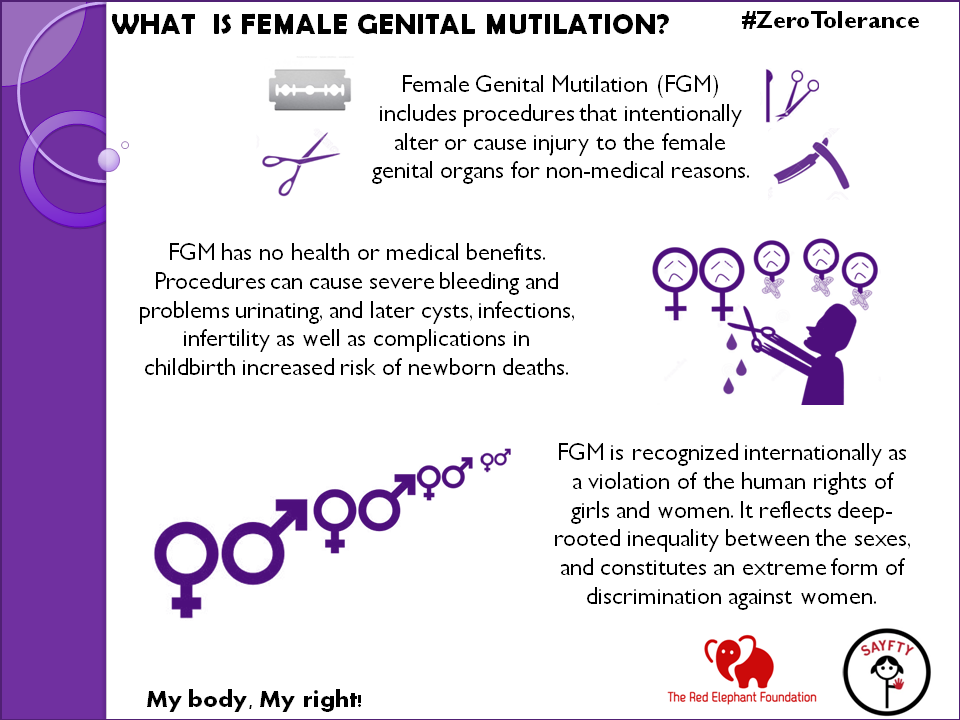 female genital mutilation reflection