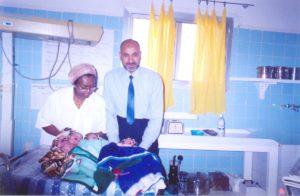Surviving Triplets born at Edna Hospital