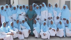 First group of student nurses