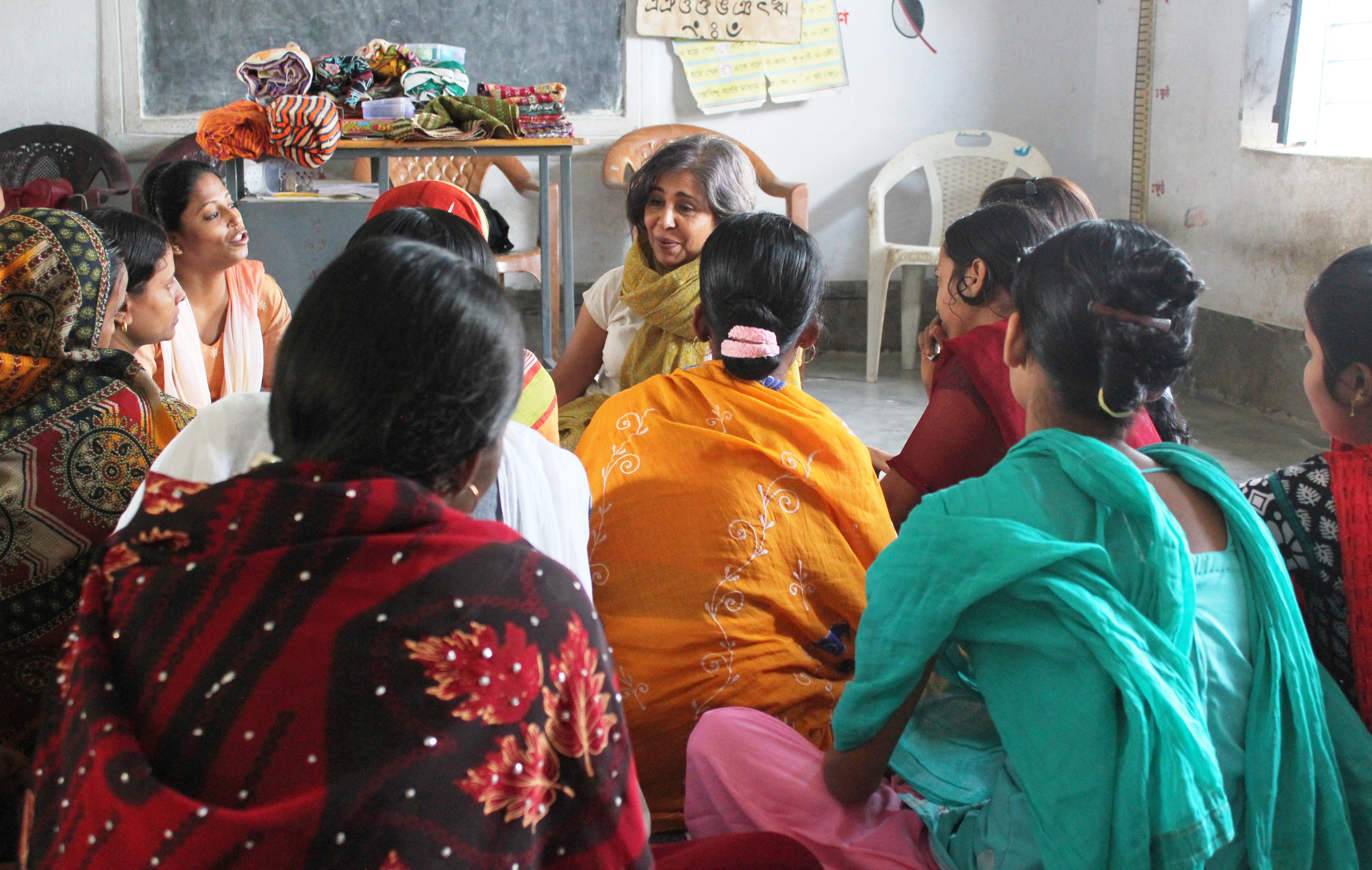 Urmi Basu empowering women