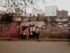 Fearless Collective - Okhla wall 'Buri Nazar Waale, Dil se Dekho, Aankho se Nahi', Delhi
