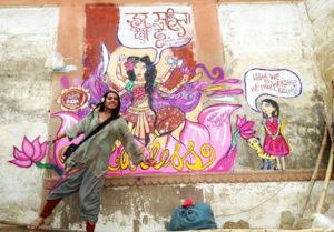 Fearless Collective Street Art Varanasi