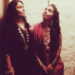 Shilo with her mother Nilofer Suleman