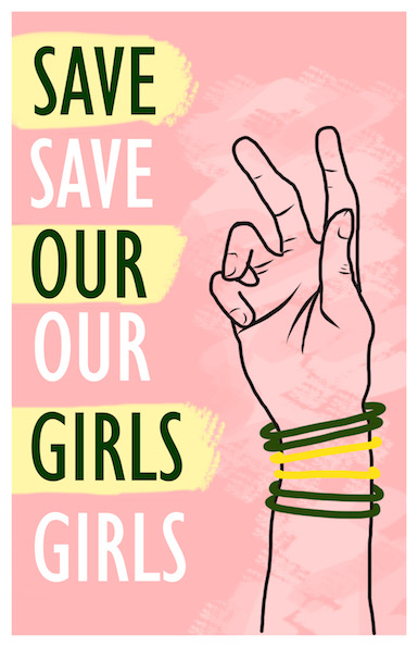 save our girls pink