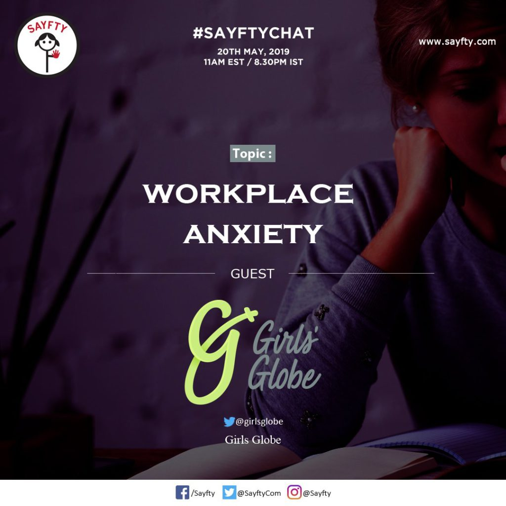 anxiety in the workplace conversation with girls globe